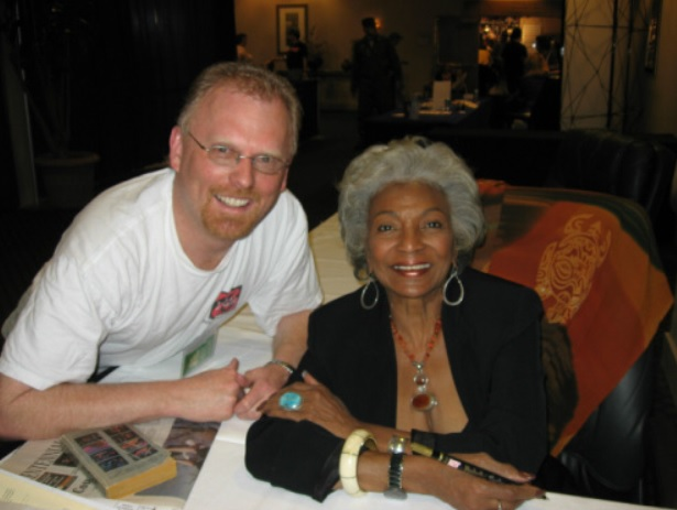 Peter Jones interviewed Nichelle Nichols.