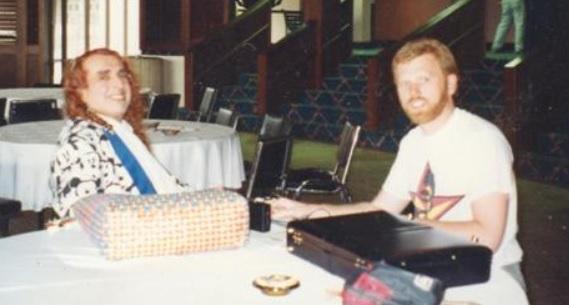 Peter Jones interviews Tiny Tim.